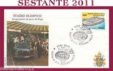 VATICANO FDC ROMA PAPA GIOVANNI PAOLO II STADIO OLIMPICO INAUGURAZIONE 1990 654