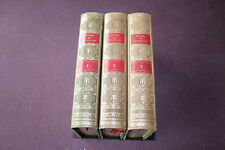 (B) Romans et Contes de Voltaire 3 tomes Michel de l'Ormeraie Editeur 1974