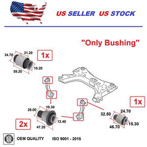 Front Bushing Subframe Mount For Nissan NV200 2013-2019 Tiida 2007-2018 Set 4x