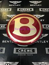 Bentley Arnage Wheel Center Cap Discs Gold Red Cap Original Item #PA14