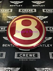 Bentley Arnage Center Cap Red Label Genuine Bentley Part 100% PN# PD110614PA