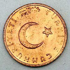 TURKEY, 1974 1 Kurus BU. Bronze Coin KM#895a.