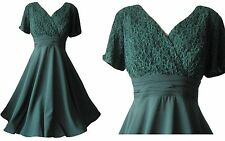 Lace V-Neck Special Occasion Plus Size Dresses for Women