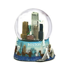 "Boston Skyline Snow Globe (3.5"") - Massachusetts Souvenir Travel Collector Gift"