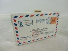 Sac à main minaudière enveloppe lettre courrier vintage original rétro pinup