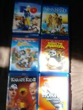 Movies, Blue Ray, Disney, Dreamworks, Lot of 6