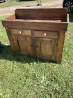 antique dry sink primitive cabinet pine country look afordable