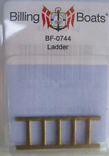 Billing BOATS Accessorio bf-0744 - 2 x 18 mm x 45 mm - 5 OTTONE Rung diagramma Ladder Post 1st