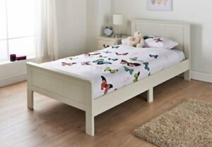 Charming bedroom Carmen Single Bed high quality paint for smooth elegant finish.
