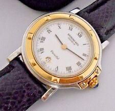 Mint Women's Raymond Weil Parsifal  9989 Solid 18K Gold Bezel Quartz Watch