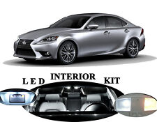 LED Package Interior + License + Vanity + Reverse for Lexus IS 250 IS 350 15Pcs