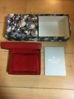 GENUINE ROLEX  ladies  watch box case 14.00.02 Booklet 79173