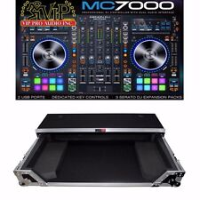 Denon MC7000 mint 4-Ch DJ Controller w/Digital Mixer 2x USB & Serato DJ + CASE