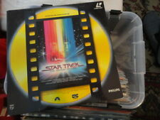 STAR TREK 'The Motion Picture' 1991 Dutch 2 Disc Edition Laser Disc -PAL-
