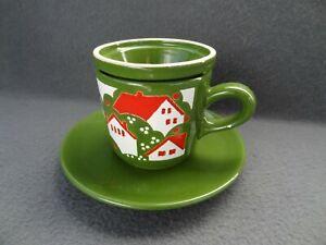 Waechtersbach W-Germany Tea Cup Mug Basket Infuser Strainer VTG Ceramic Coffee