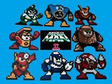 Mega Man 2 Bosses Perler Set NES Boss