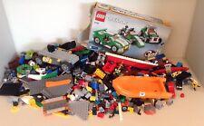 Lego spares job lot bundle City Super Heroes Creator 2.5kg: coastguard, car 6743