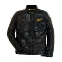 New Dainese Ducati Quattortasche Leather Jacket Men's EU 52 Black #981031252
