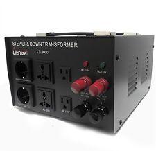 LiteFuze LT-15000 Voltage Converter Transformer Heavy Duty Step Up/Down 15000W