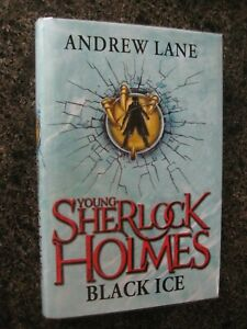 Signed & Numbered Hardback First Edition Black Ice by Andrew Lane