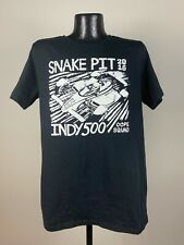 Men's Dope Indianapolis 500 2016 Snake Pit Cotton Short-Sleeve Black Shirt NWT