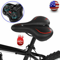 Ultralight Mountain Bicycle Road Bike Soft Shock Absorption Seat Saddle NEW