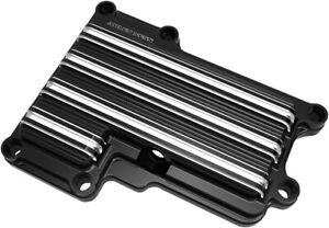 Arlen Ness 10-Gauge Transmission Top Cover Black 03-853