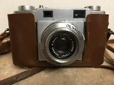 Olympus 35-S EP Rangefinder 35mm Camera Collector with Original Case See Picture