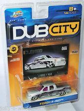 Jada Dub City-Ford f-150 pickup-Silver/Graphics - 1:64 #055