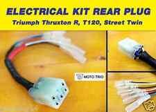 MOTO TRIO REAR PLUG CONNECTOR HARNESS  (Fit: Thruxton R,T120,Street Twin)