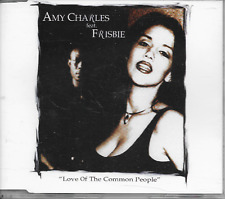 AMY CHARLES ft FRISBIE - Love of the common people CDM 4TR Europop Ragga 1997