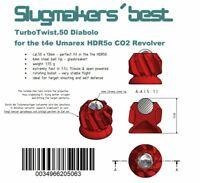 36 x Slugmaker´s best Turbo.Twist.50 Slugs for Umarex t4e HDR50 Geschosse cal.50