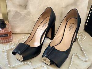 Valentino Garavani Bow Detail Pump Heel Size 37****