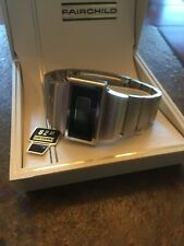 Vintage Fairchild Stainless Steel Men's LCD WATCH NEW IN BOX