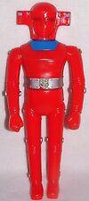 "Red Baron Giant Superhero Robot Vinyl Figure14.5"" Bullmark Japan Shogun Godzilla"