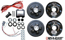 Add Brakes to Your Trailer Complete Kit 3500 Axle 5 x 5.0 Electric Never Adjust