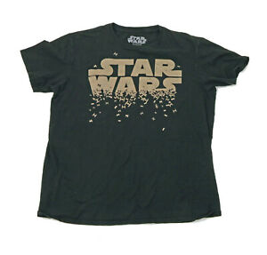 Star Wars Fighters Black Childs Large T Shirt