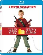 Home Alone 1 and 2 BLU RAY DVD
