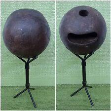 Antica palla  di bowling  anno 1900 IN ferro 1900 year old bowling ball IN iron