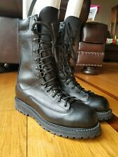 Matterhorn 1950 Black Leather Gore-Tex Insulated Military Combat Boots 9.5 M