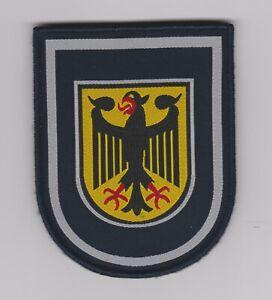 Bundespolizei  --  Angestellter  --  Stoffabzeichen  --  gewebt  --  mit Klett