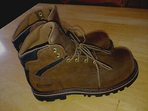 """CHIPPEWA MEN'S LEATHER INSULATED WATERPROOF 6"""" COMP. TOE WORK BOOTS-10.5EE-NEW"""