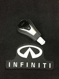 Infiniti NISSAN OEM Q60 Transmission Gear-Shift Knob Shifter Handle 349109NF0A