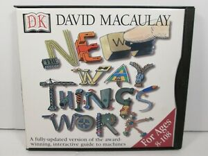 The New Way Things Work with David Macaulay CD-ROM PC/Mac by Dorling Kind. 1998