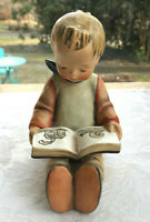 "Vintage Hummel Goebel""Book Worm Bookend, Boy"" 5 1/2"" TMK3 HUM 14/B"