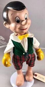 "14"" Antique American Composition Walt Disney's Pinocchio Doll! 18080"