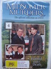 Midsomer Murders: Faithful unto Death (DVD, 1998) NEW SEALED Region 2 PAL