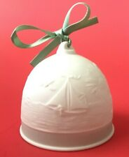 Lladro Bell Ornament Collector Society Seasons, Summer Bell, 1992, 7614