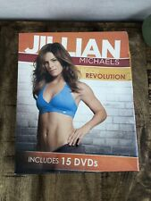 Jillian Michaels Body Revolution-90 Day Weight Loss Program, 15 Dvds! Sealed!