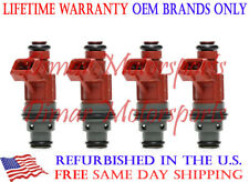 Fits SAAB 9-3 99-04 2.0L OEM Fuel Injector Set of 4